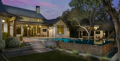 Residential architecture design architecture house plans for Hill country house plans luxury