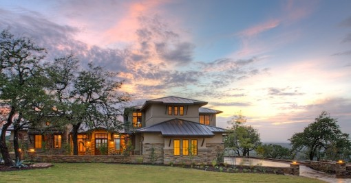 Hill country contemporary 1 geschke for Hill country modern homes