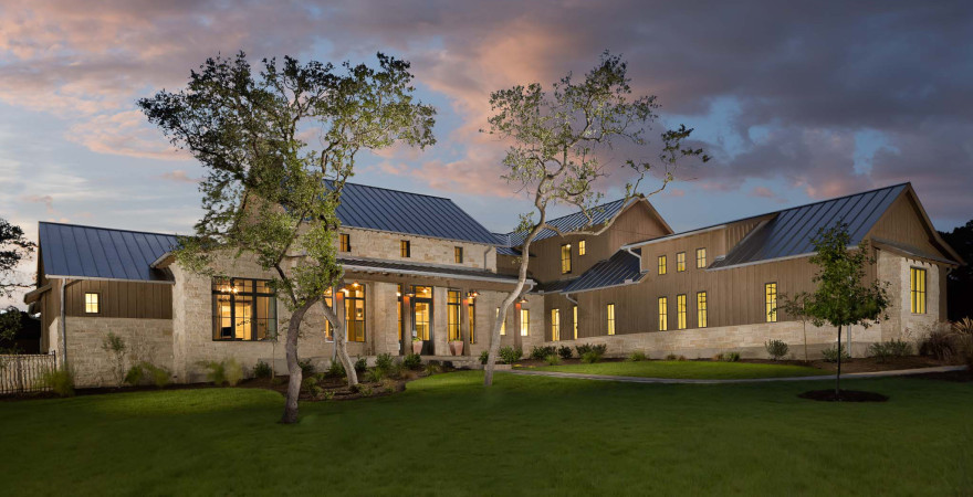 Austin Architect S Hill Country Design Farmhouse Designs Ranch Custom Luxury Homes Building Golf Course And Lake Architects